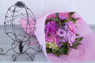 floral wrapper